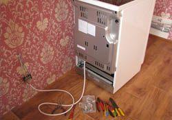 Подключение электроплиты. Саратовские электрики.
